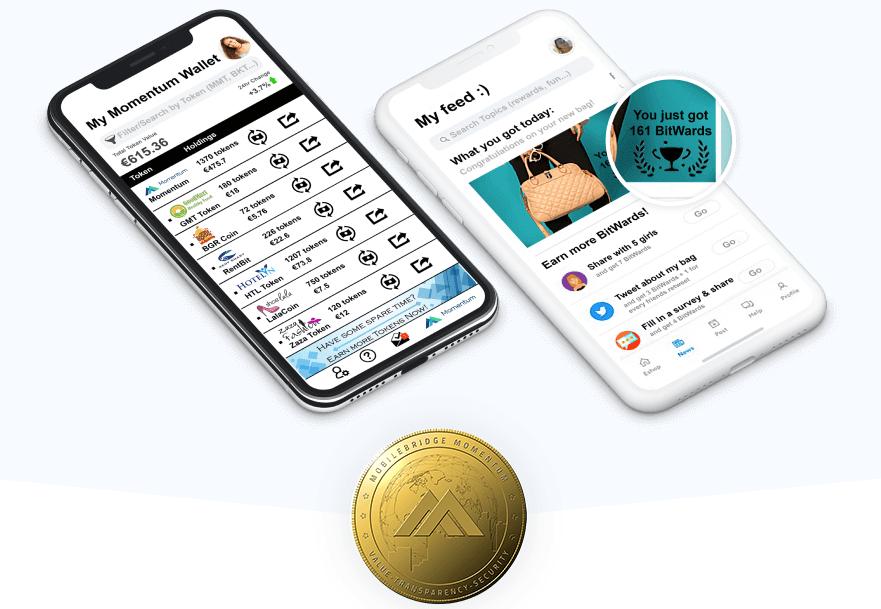 Блокчейн-платформа MobileBridge Momentum