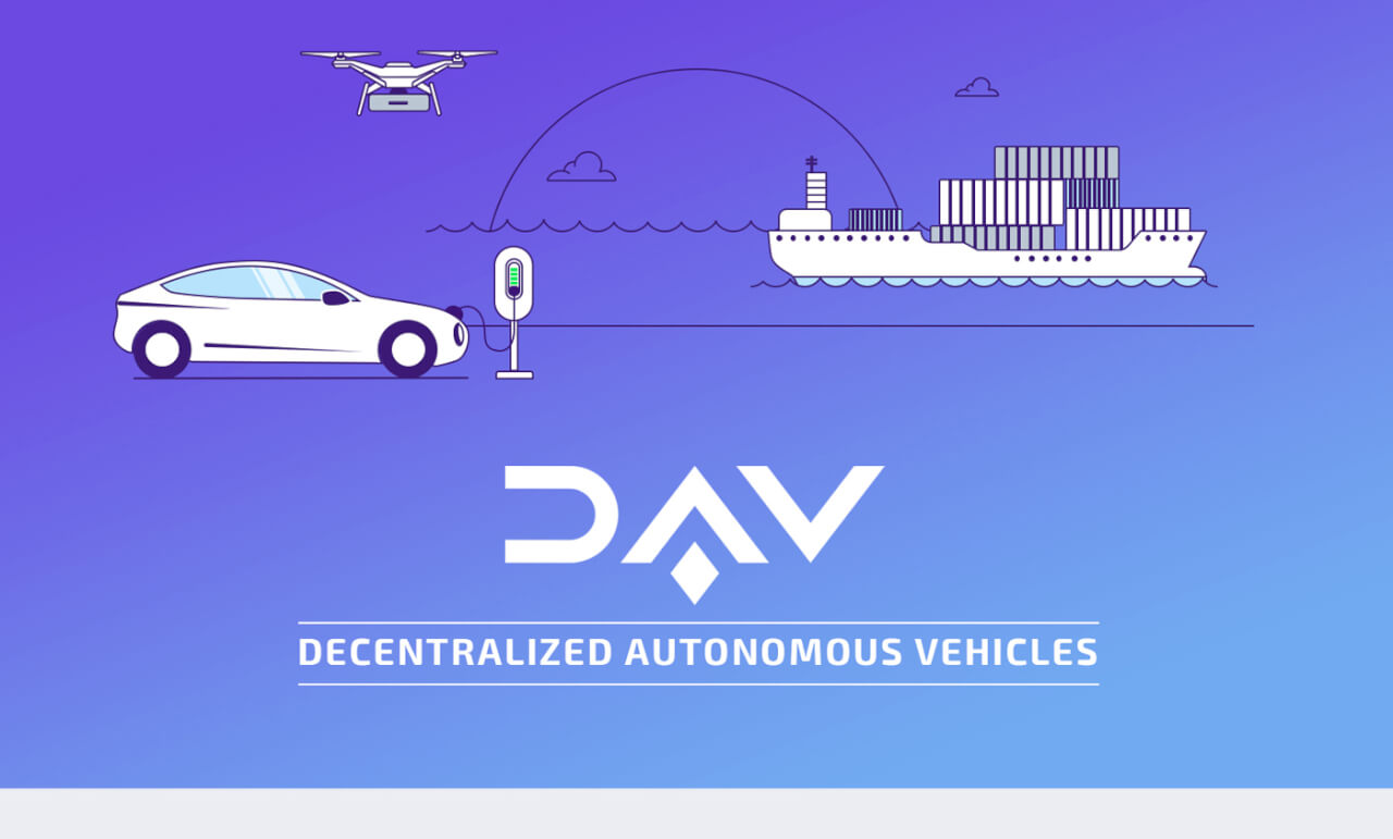 DAV - Decentralized Autonomous Vehicles