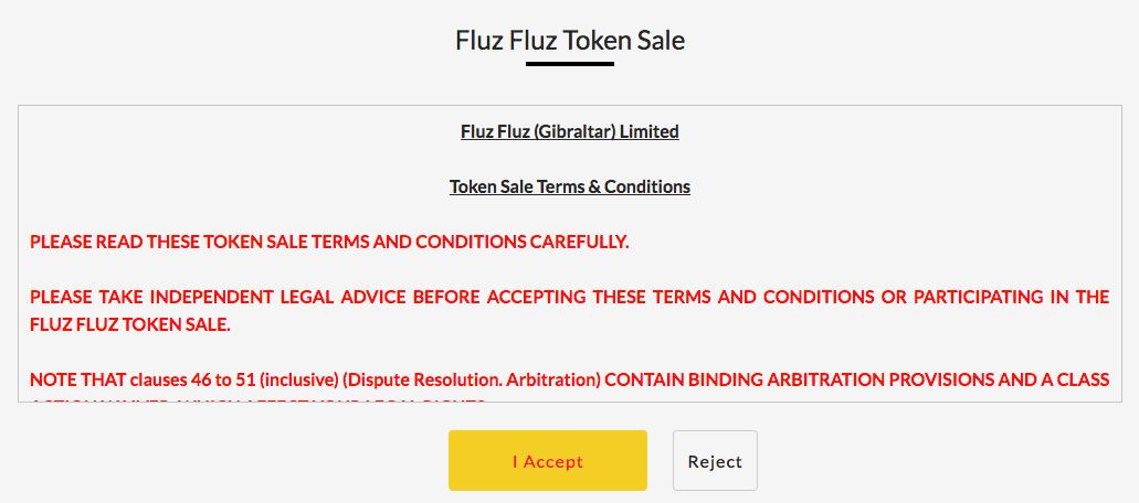 Как принять участие в ICO FLUZ FLUZ - Шаг 3
