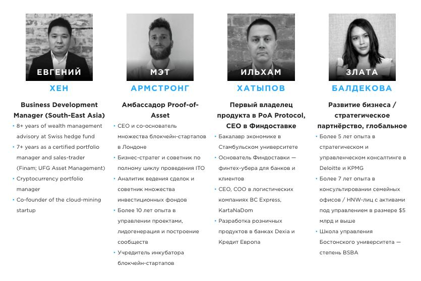 Команда Bankex - Продуктовая 2