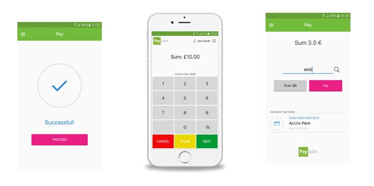 Мобильное приложение Paytailor