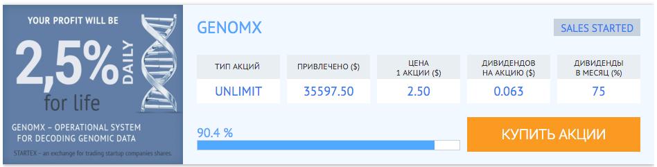 GenomX UNLIMIT