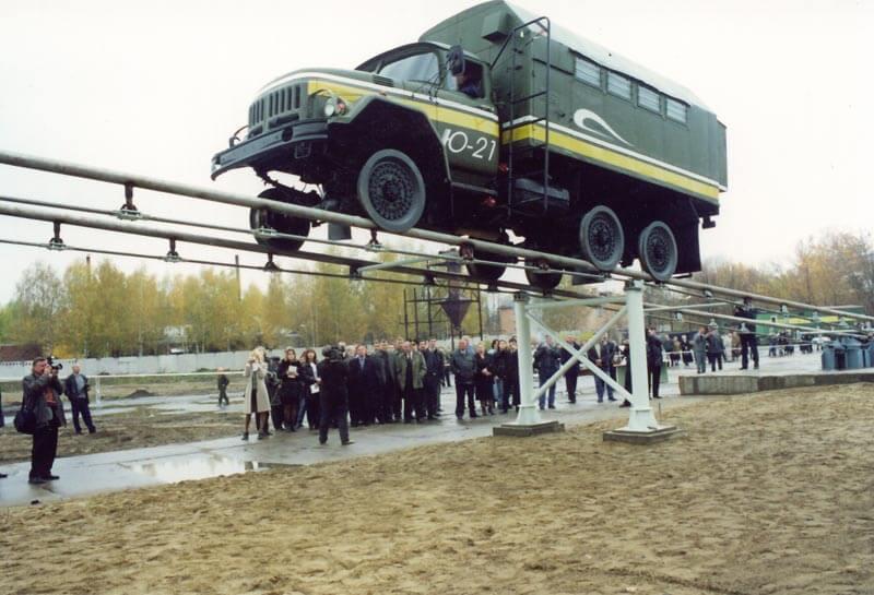 Skyway - Первый полигон Юницкого