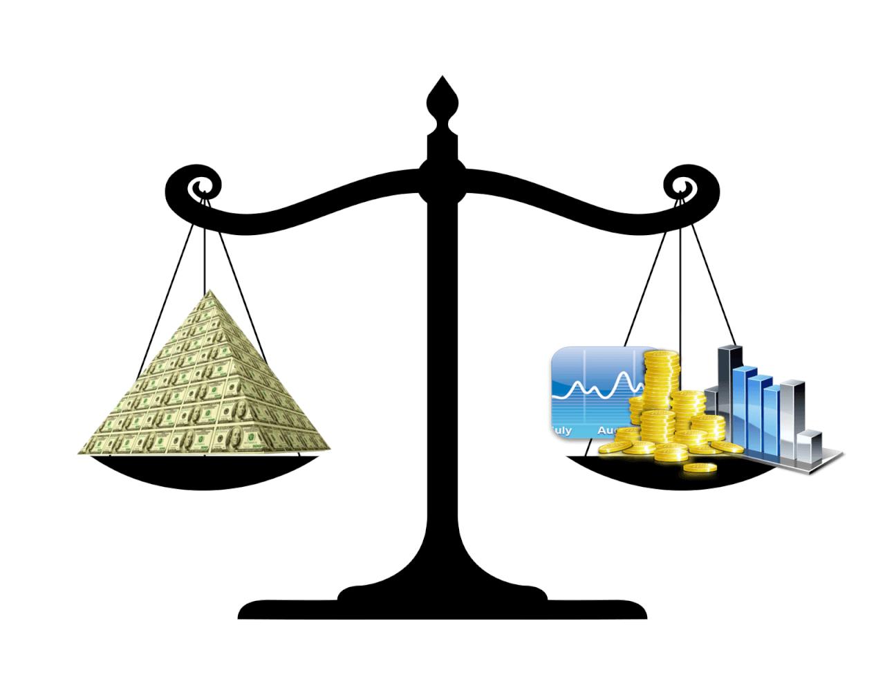Что выгоднее - создавать пирамиду или инвестиции в реальный бизнес?