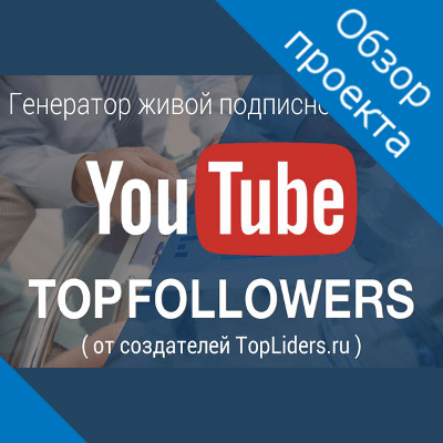 TopFollowers обзор