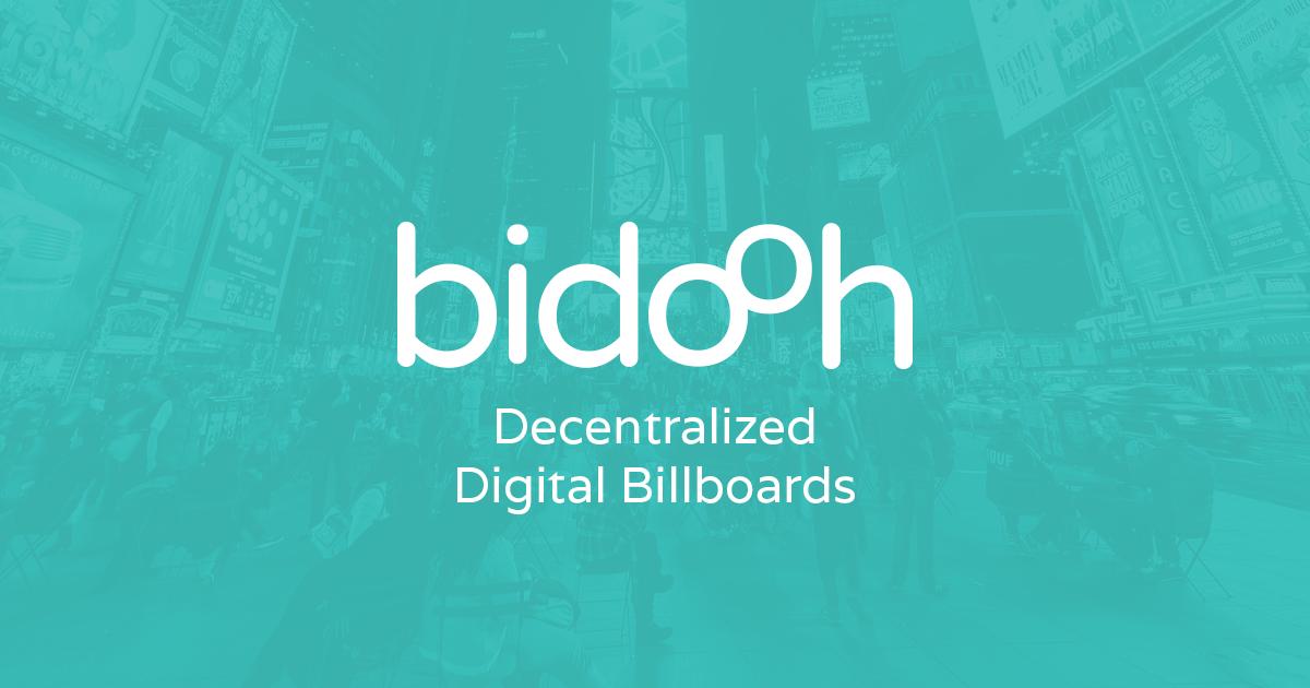 Bidooh — рекламная площадка на стыке реального и виртуального миров