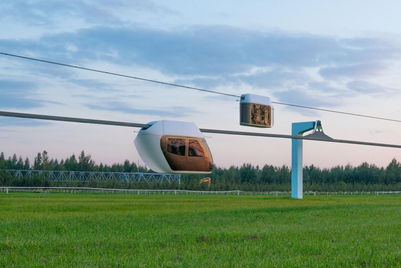 Испытания подвижного состава Skyway