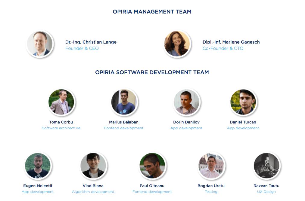Команда Opiria