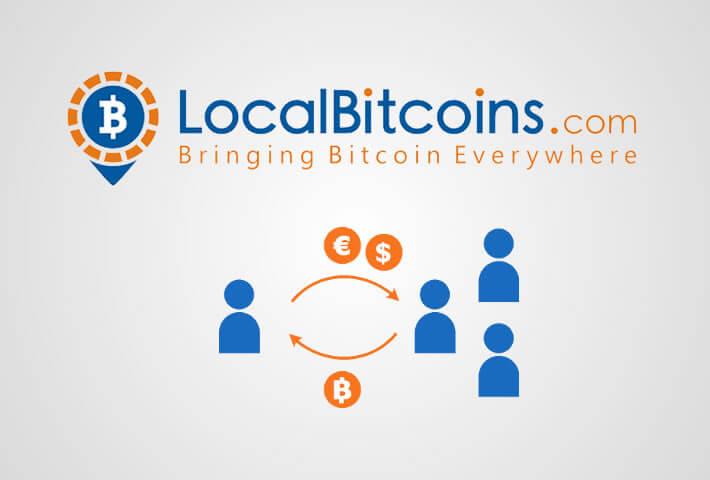LocalBitcoins - P2P обменник