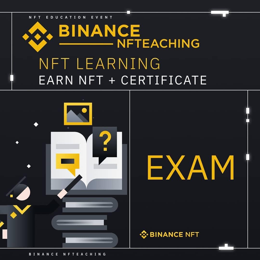 NFT-викторина от биржи Binance