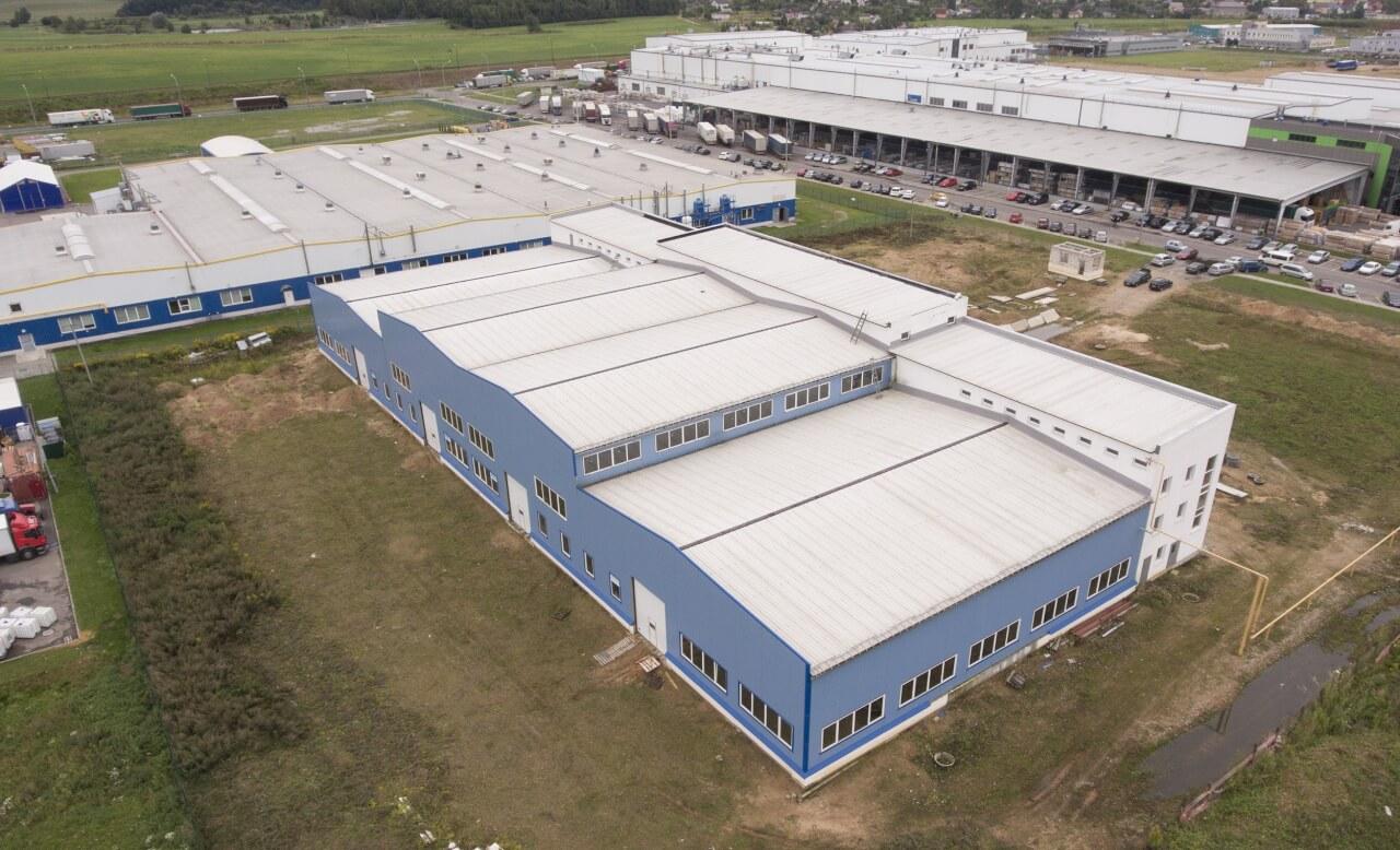 Новые производственные здания в Skyway