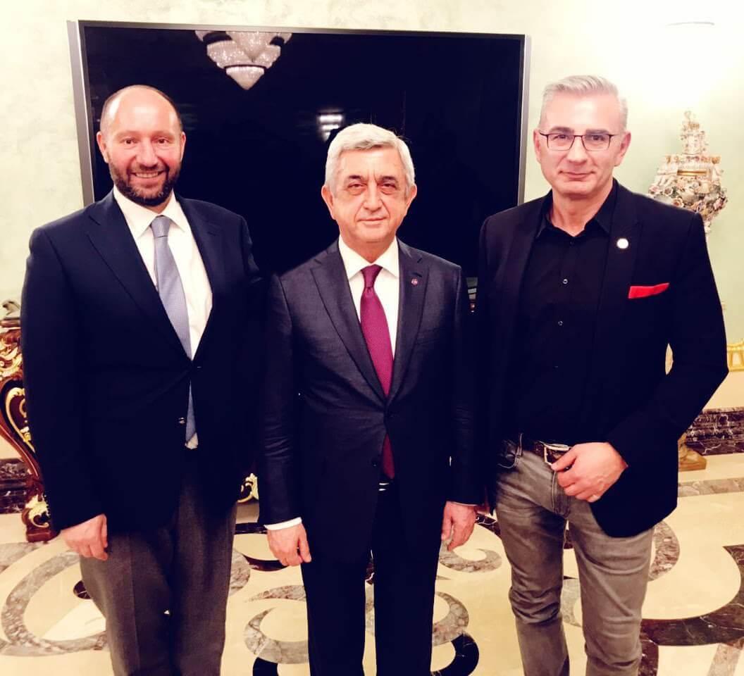 Omnia налаживает контакты с правительством Армении