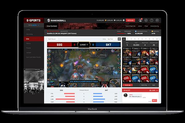 Rankingball - единая платформа для беттинга