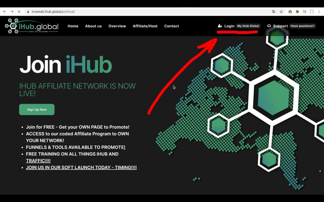 Регистрация в iHub Global - Шаг 4