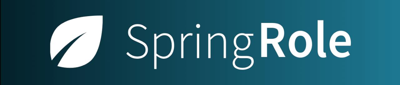 SpringRole - профессиональная сеть на блокчейне для верификации и аттестации соискателей