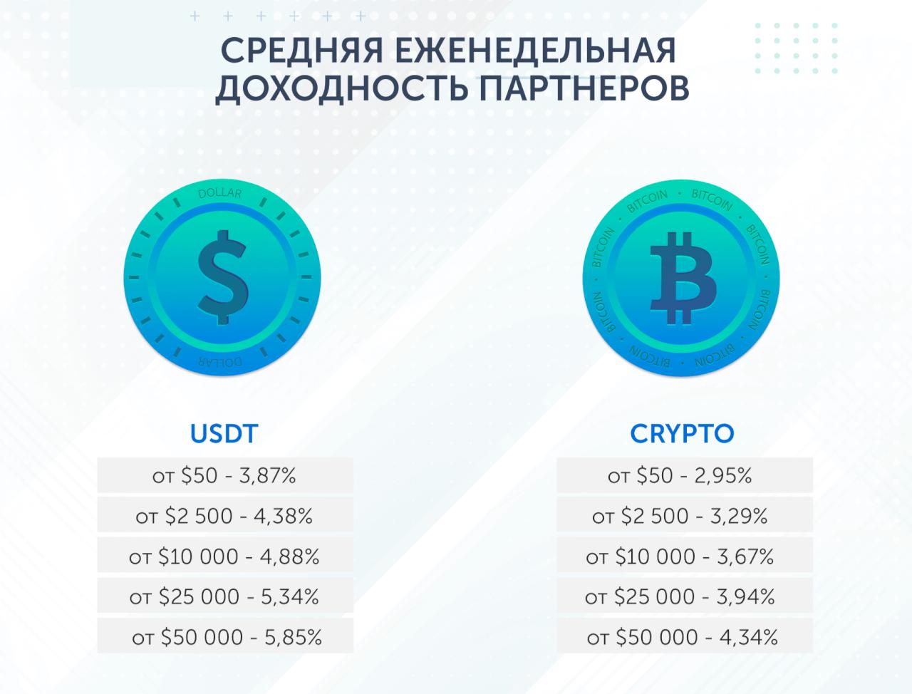 Статистика инвесторской доходности в Digithereum
