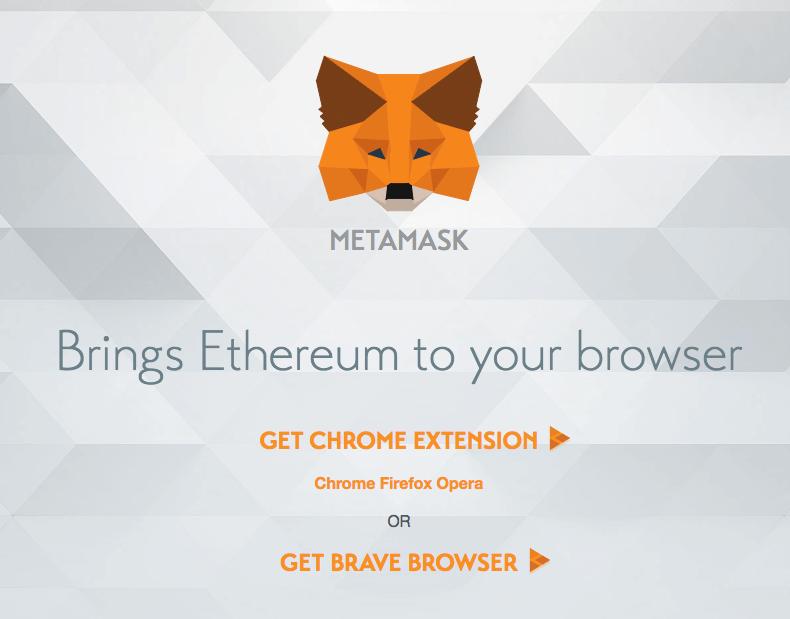 Установка Metamask - Шаг 1 - Заходим на официальный сайт
