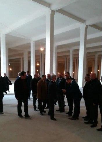 Визит президента Армении на ферму Омнии