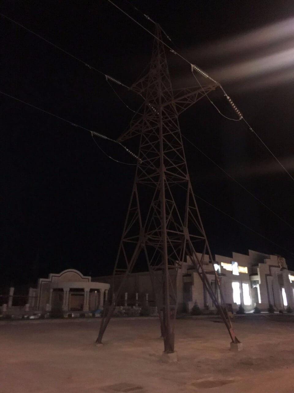 Выделенная линия электропередач для фермы Omnia в Армении