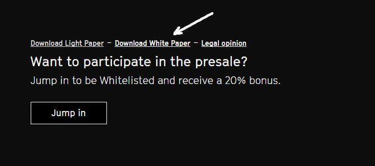 White Paper - Белый Кролик