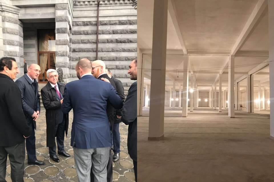 Знакомство лидеров Омнии с руководством Армении и строительство фермы